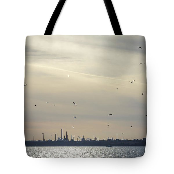 Power By The Sea Tote Bag