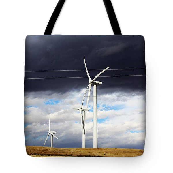 Power-full Tote Bag by Alyce Taylor