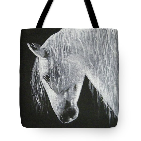 Power Horse Tote Bag