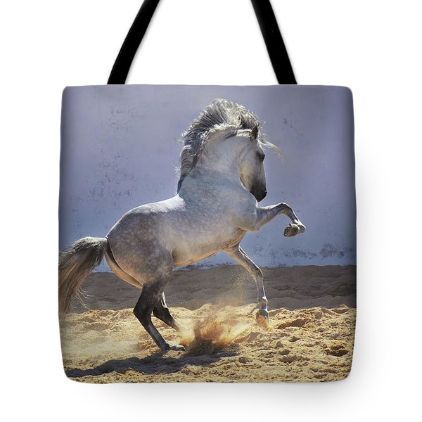 Power In Motion Tote Bag