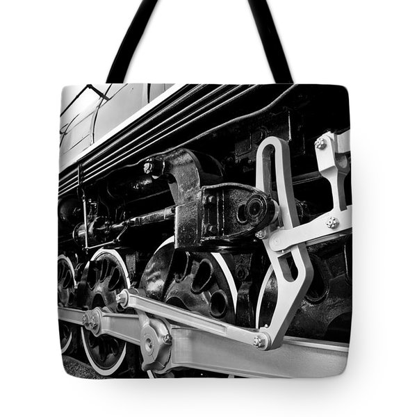 Power In The Age Of Steam Tote Bag by Dan Dooley