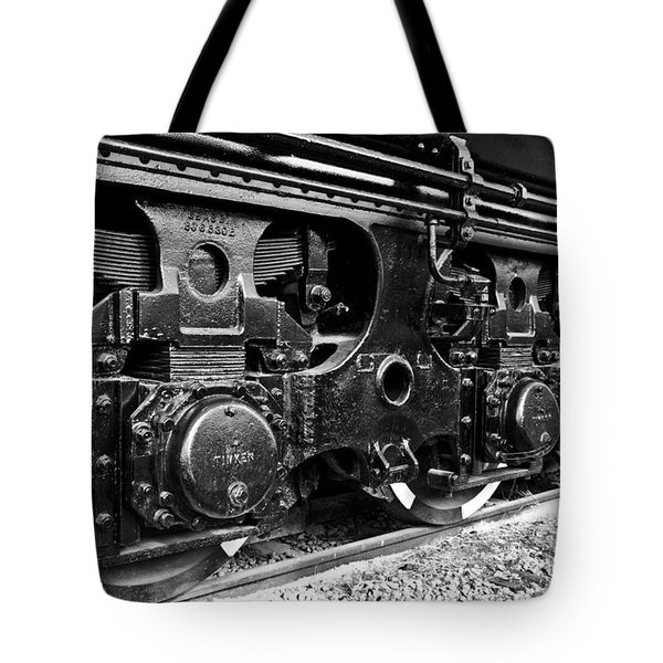 Power In The Age Of Steam 6 Tote Bag by Dan Dooley