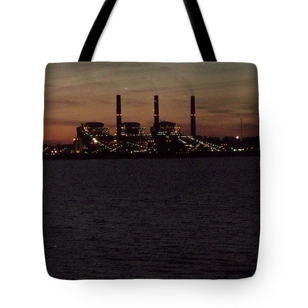 Tote Bag featuring the photograph Power In The Dark by Betty Northcutt