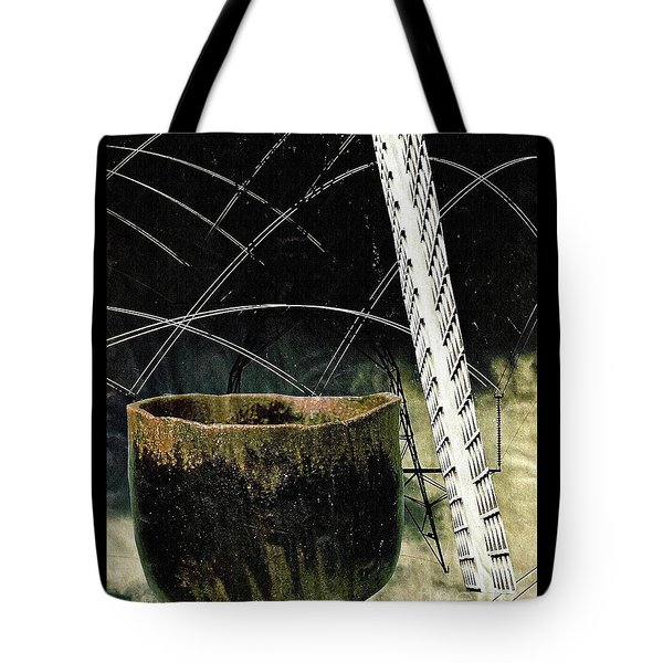 Power Lines Tote Bag by Sarah Loft