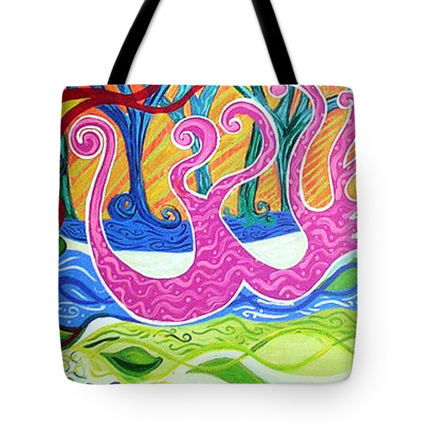 Power Of Love Tote Bag by Genevieve Esson