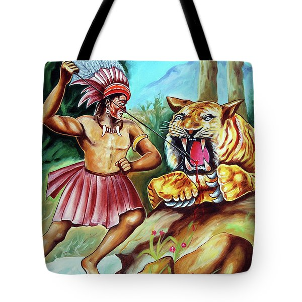 The Beast Of Beasts Tote Bag by Ragunath Venkatraman