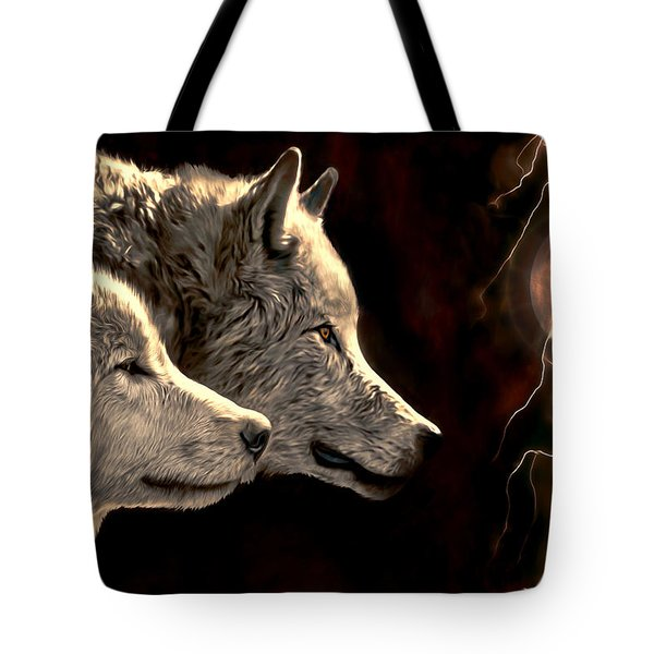 Power Of The Moon Tote Bag