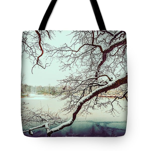 Power Of The Winter Tote Bag