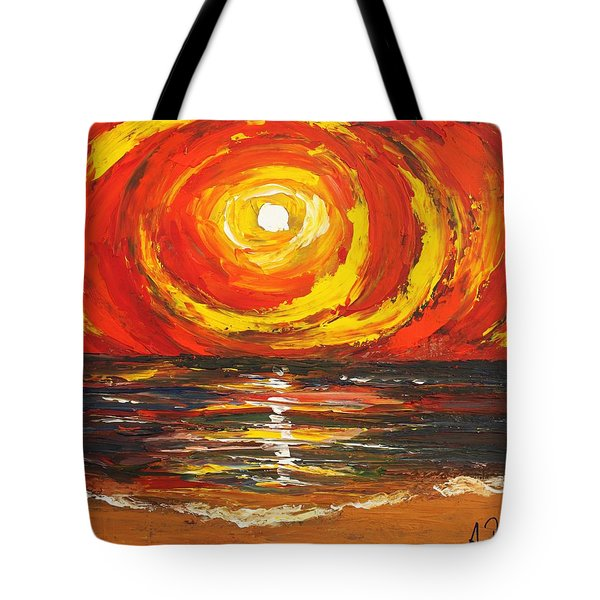 Power Source Tote Bag