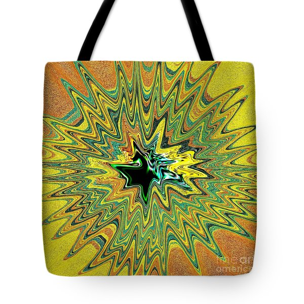 Power Star Abstract Tote Bag