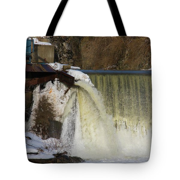 Power Station Falls On Black River One Tote Bag