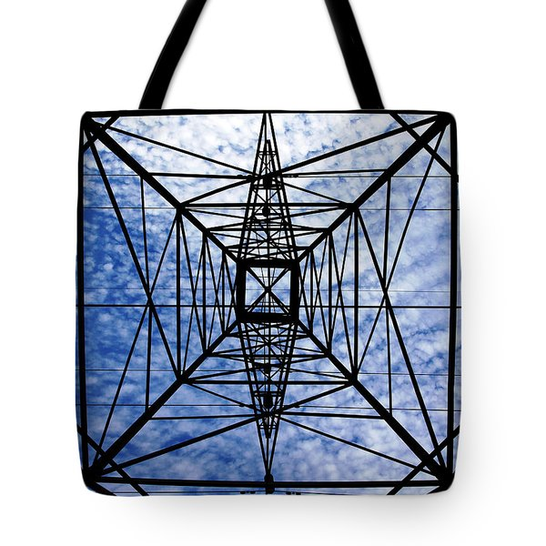 Powerful Geometry Tote Bag