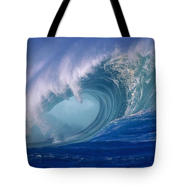 Powerful Surf Tote Bag