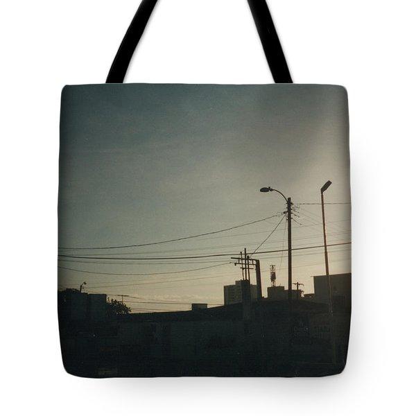 Untitled Street Scene Tote Bag