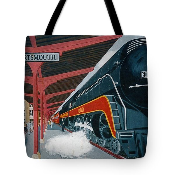 Powhattan Arrow At Portsmouth Tote Bag by Frank Hunter