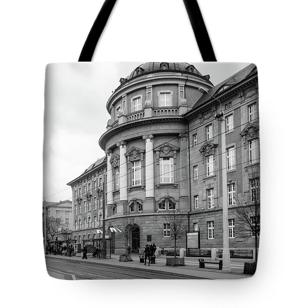 Poznan University Of Medical Sciences Tote Bag