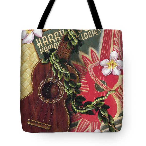 Practice My Uke Tote Bag by Sandra Blazel - Printscapes