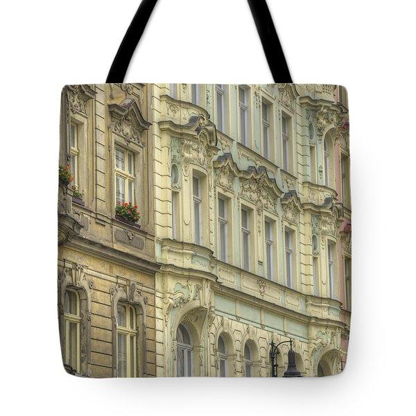 Prague. Architectural Detail Tote Bag