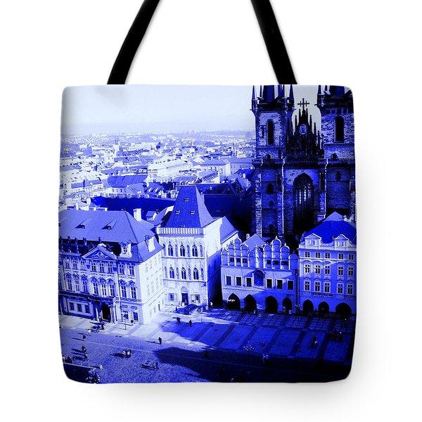 Tote Bag featuring the photograph Prague Cz by Michelle Dallocchio