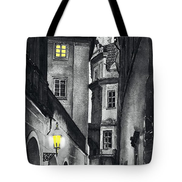 Prague Love Story Tote Bag