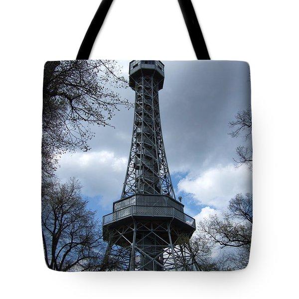 Prague Tower Petrin Tote Bag