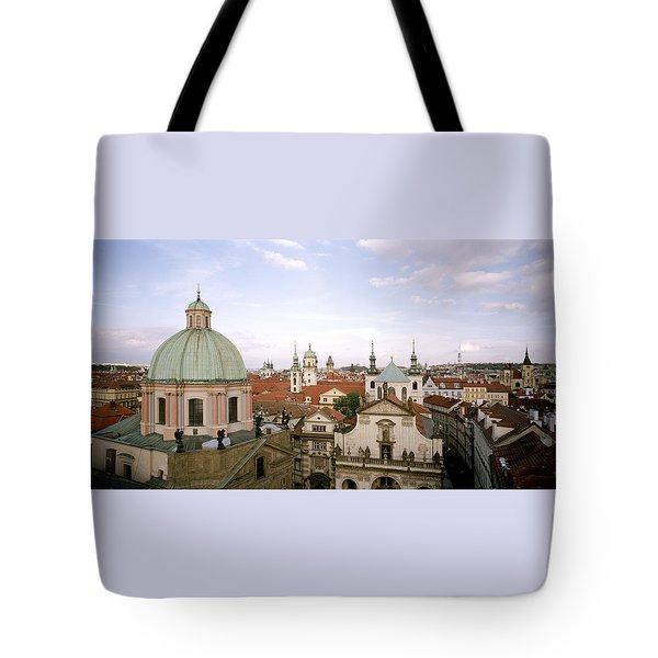 Prague Twilight Tote Bag
