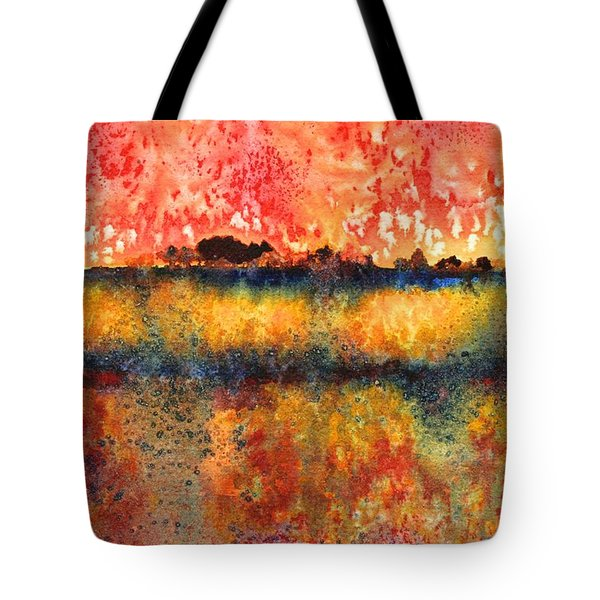 Praire Thunderstorm Tote Bag