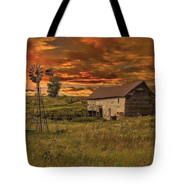 Prairie Barn Tote Bag