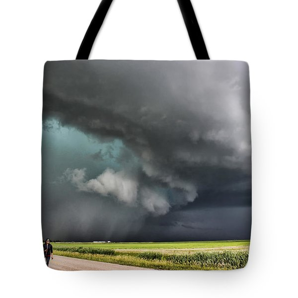 Prairie Beast Tote Bag by Ryan Crouse