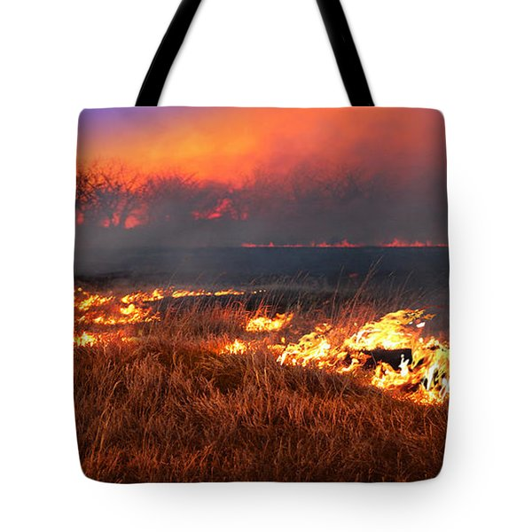 Prairie Burn Tote Bag
