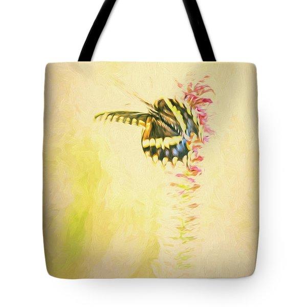 Prairie Butterfly 3 Tote Bag