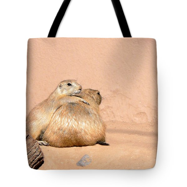 Prairie Dog Friends Tote Bag