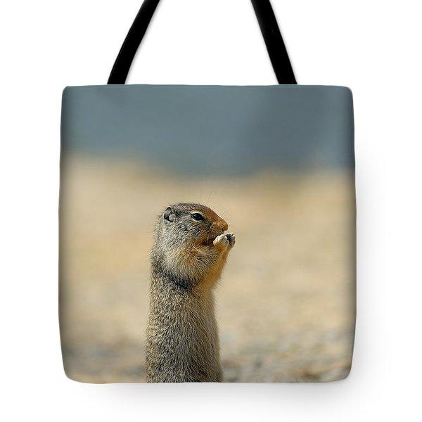 Prairie Dog Tote Bag by Sebastian Musial
