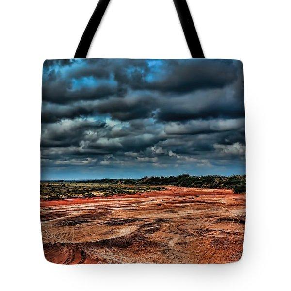 Prairie Dog Town Fork Red River Tote Bag