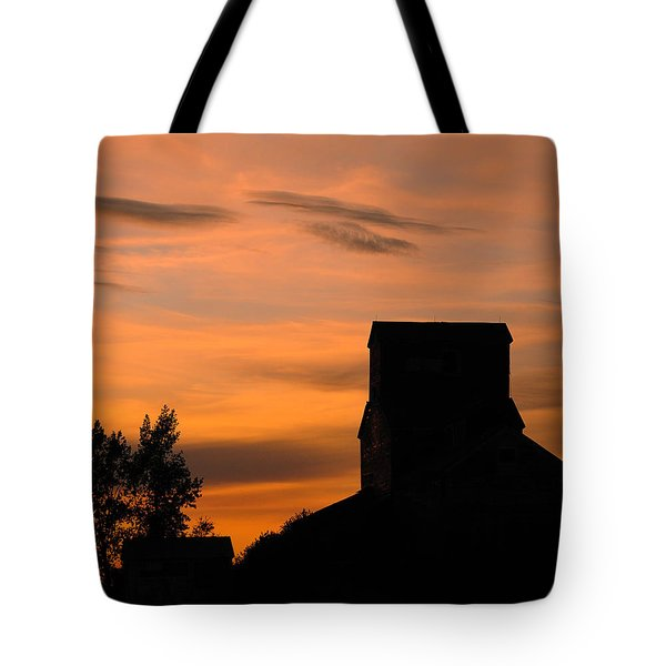 Prairie Dusk Tote Bag by Tony Beck