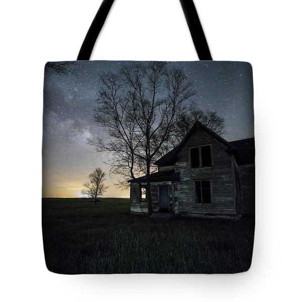 Prairie Gold And Milky Way Tote Bag by Aaron J Groen