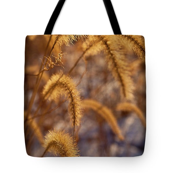 Prairie Grass Detail Tote Bag