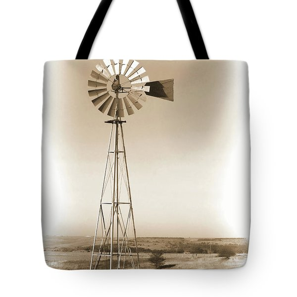 Prairie Guardian Tote Bag by Sylvia Thornton