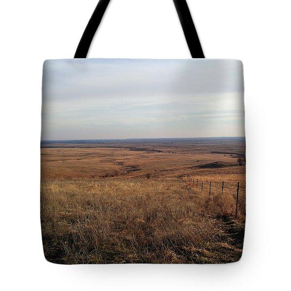 Prairie Hills To Infinity Tote Bag
