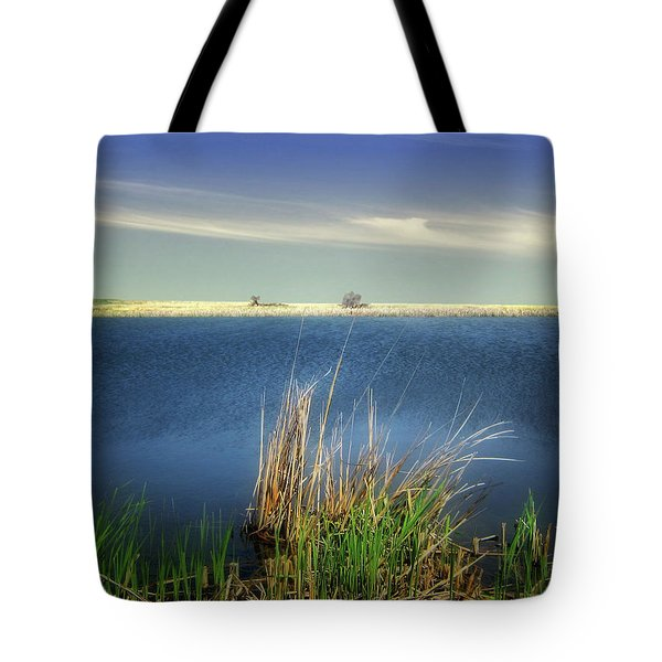 Prairie Lake Tote Bag