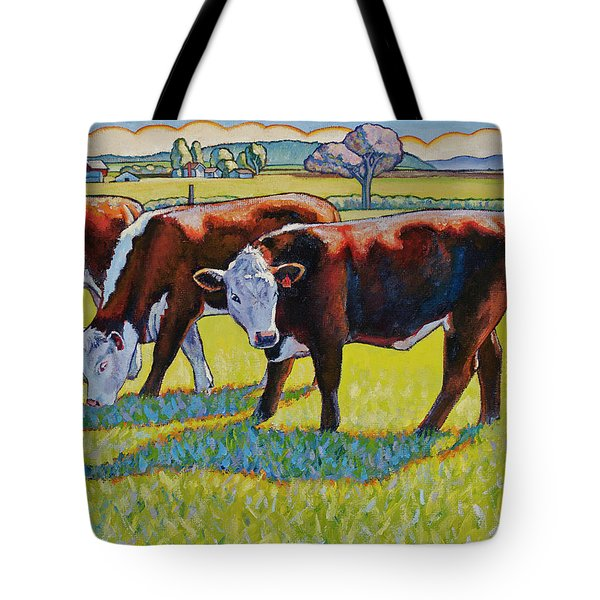Prairie Lunch Tote Bag