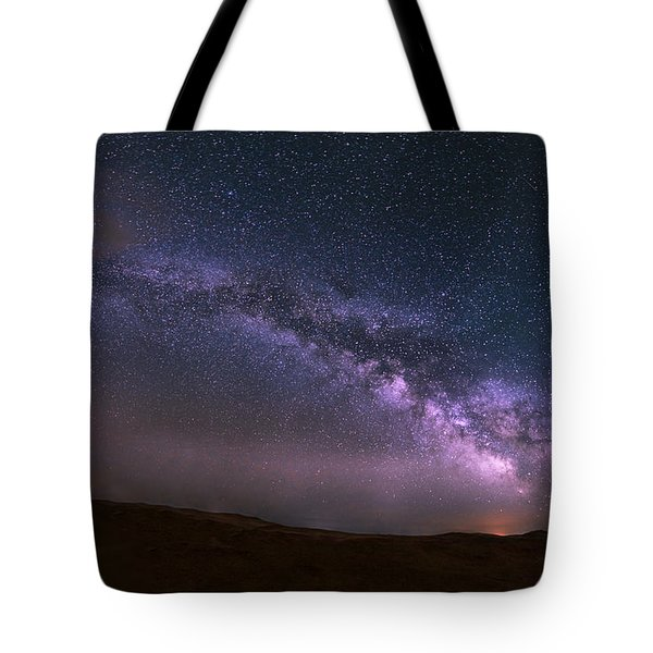 Prairie Night's Glitter Tote Bag