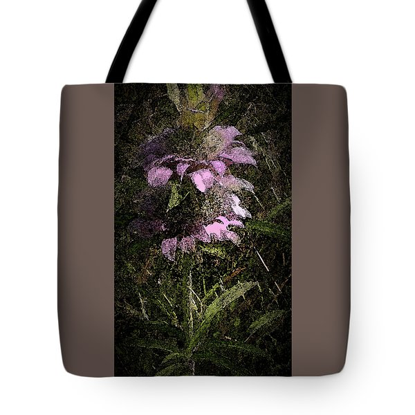 Prairie Weed Flower Tote Bag