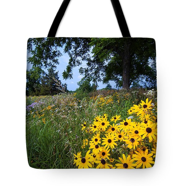 Prairie Wildflowers Tote Bag