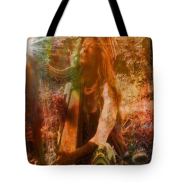 Praise Him With The Harp II Tote Bag