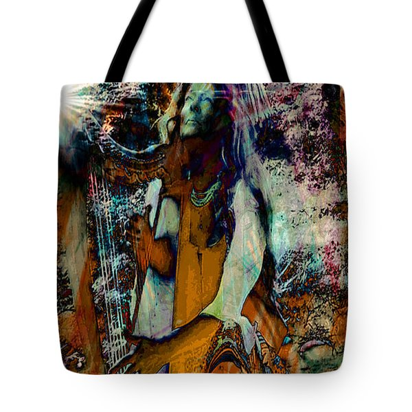 Praise Him With The Harp IIi Tote Bag