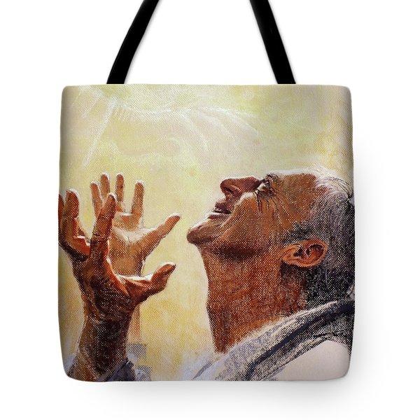 Praise. I Will Praise Him  Tote Bag