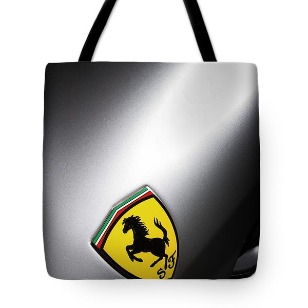 Tote Bag featuring the photograph Prancing Horse by ItzKirb Photography