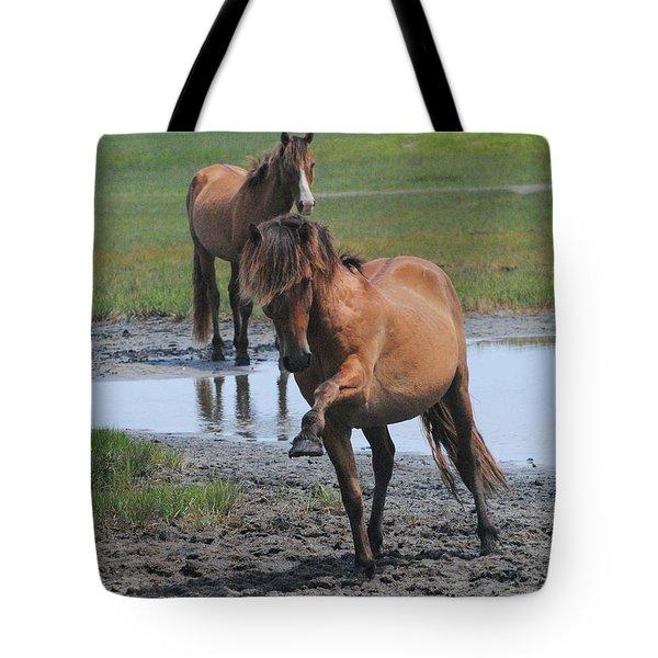 Prancing Pony Tote Bag