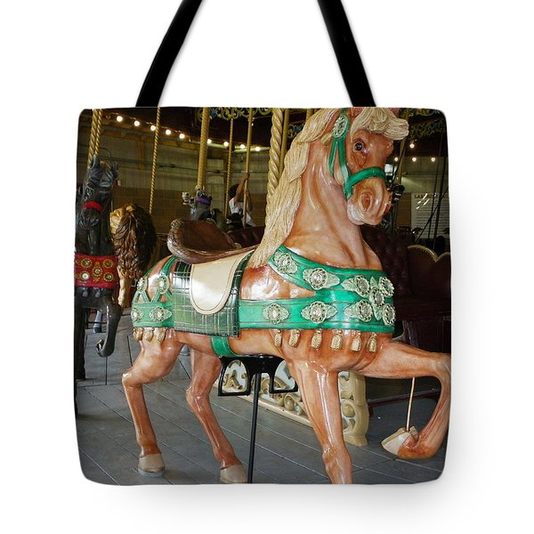 Prancing To The Music Tote Bag